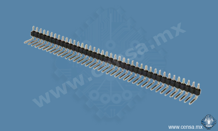 PH1RA-40-TN PI Header 40 pos. 90º
