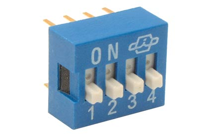 DS-04P Interruptor Dip switch tipo IC | DS-04P | DS 04P | DS/04P