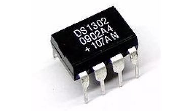 DS1302 IC Timekeeper W/Charger 8-DIP