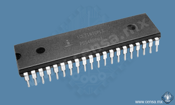 ICL7107CPL IC ADC 3.5 DIGIT LED DIP-40