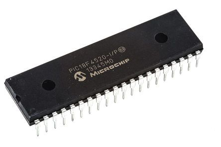 PIC18F4520-I/P IC MCU Flash 16KX16 DIP-40