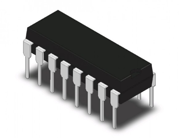 s IC Sync Down Counter 8STG 16-DIP