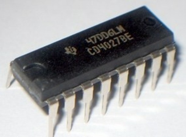 CD4027BE | IC DUAL JK MASTER-SLV F/F 16-DIP