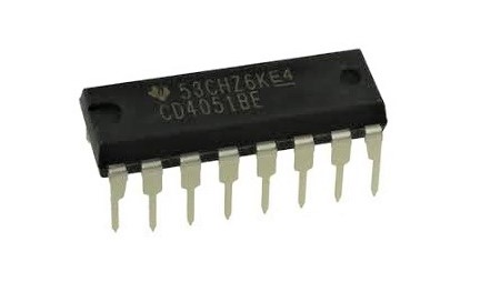 CD4051BE IC MUX/DEMUX 8X1 16DIP