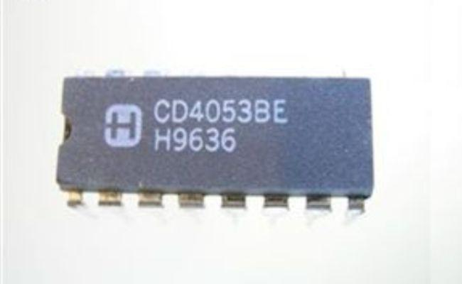 CD4053BE IC MUX/DEMUX Triple 2X1 DIP-16