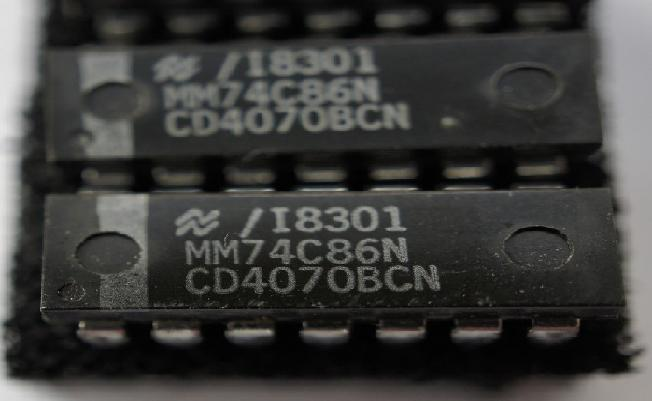 CD4070BE IC EX-OR GATE QUAD 14-DIP