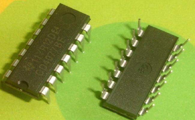 CD4077BE IC EX Nor Gate Quad DIP-14