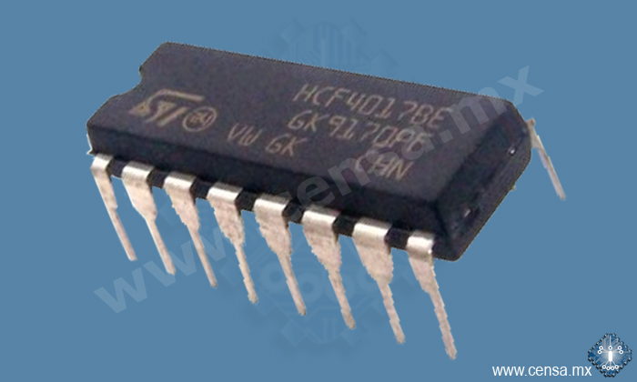 HCF4017BEY IC Decade Counter DIP-16