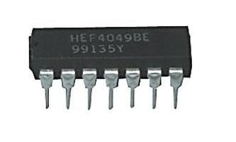 HEF4049BE HEX inverting buffers
