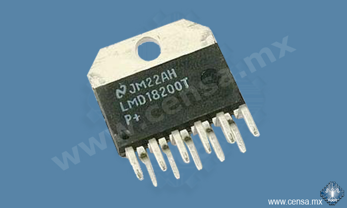 LMD18200T H BRIDGE 3A 55V TO-220