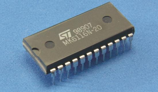 MK6116N-20 IC RAM - Multiplexed I/O DIP-24