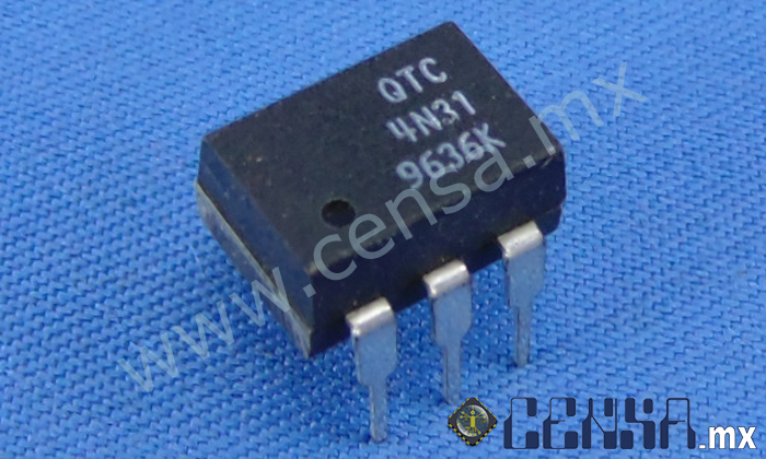 4N31 IC 6-Pin DIP Output Optocoupler