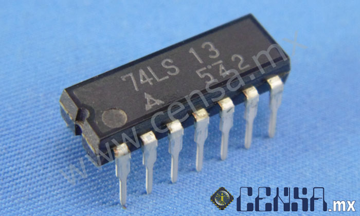 74LS13 | IC QUAD 2-IN NAND TRIGG 14-DIP