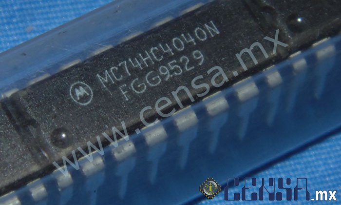 MC74HC4040N IC Binary Counter DIP-16