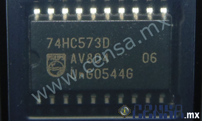 SN74HC573ADWR IC OCT D-TYPE SOIC-20