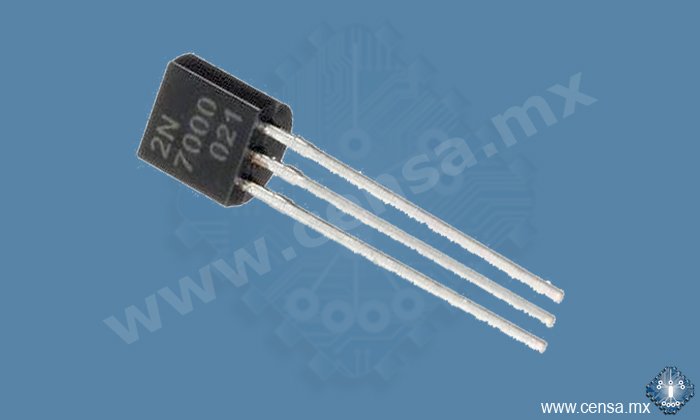 2N7000 Transistor MosFet 0.5A 60V  TO-92 | 2N7000