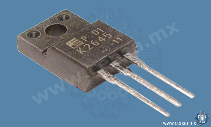 2SK2645 MosFet N- Channel 600V 9A 50W