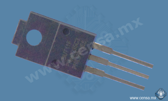 BUT11F Transistor NPN 400V 5A TO-220F | BUT11F