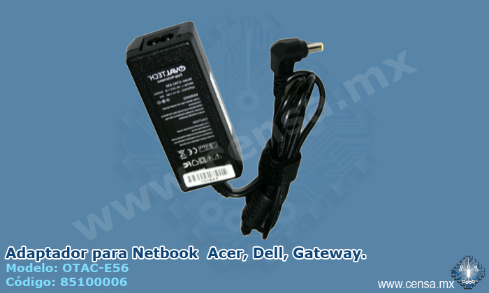 OTAC-E56 | Adaptador para Netbook  Acer, Dell, Gateway. (85100006)