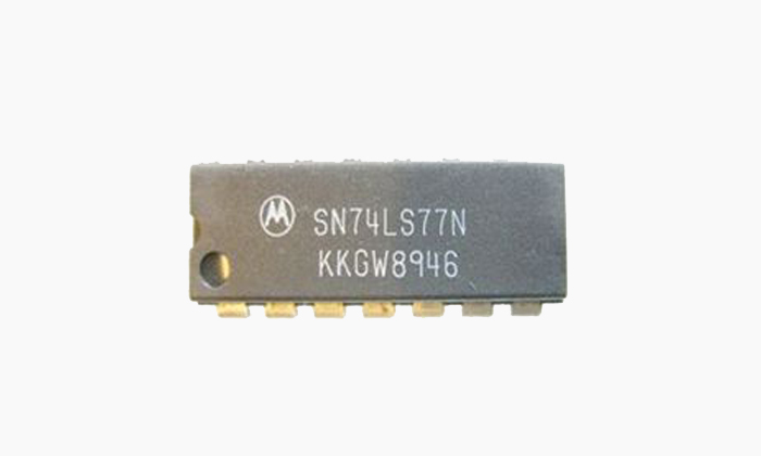 SN74LS77N Circuito Integrado 4-BIT D LATCH