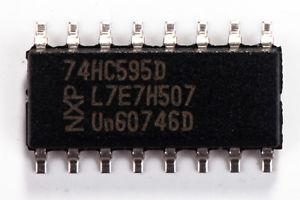 74HC595D CI 8BIT SHIFT REG 3ST-OUT 16SOIC