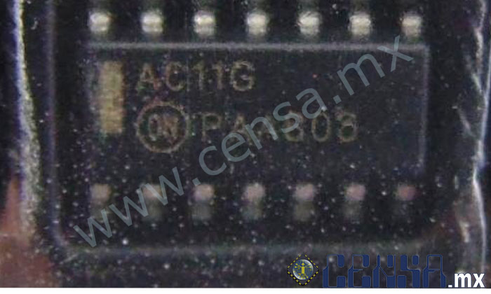 AC11G | IC GATE AND 3CH 3-INP 14-SOIC (T0000618)