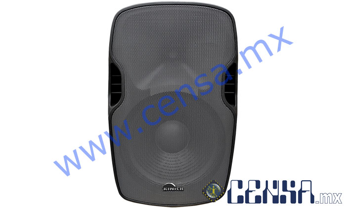 ASK-15 | Bafle  Amplificado Plastificado trapezoidal de 3500W PMPO