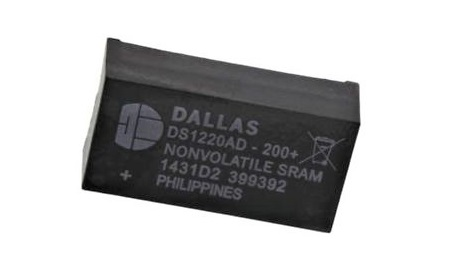 DS1220AD-200+ IC NVSRAM 16K PARALLEL 24EDIP