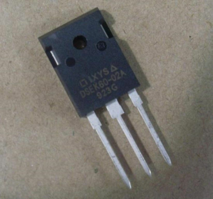 DSEK60-02A DIODE ARRAY GP 200V 34A TO247AD