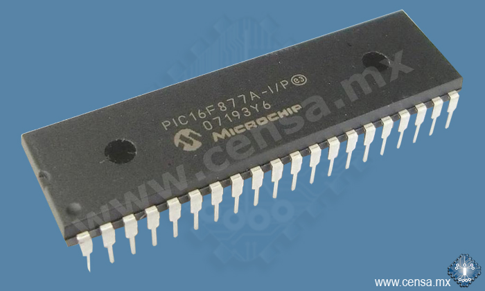 PIC16F877A-I/P MCU 8BIT 14KB FLASH 40DIP