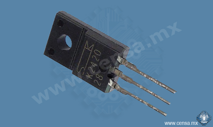 2SK2420 MOSFET N-CH 60V 30A TO-220F | 2SK2420