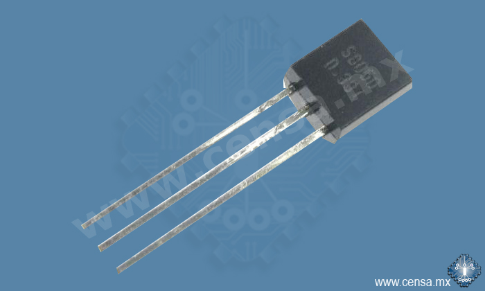 S8050 TRANSISTOR NPN PROPÓSITO GENERAL TO92